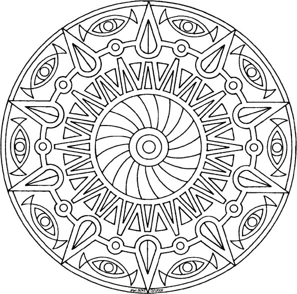 Abstract Coloring Pages To Print