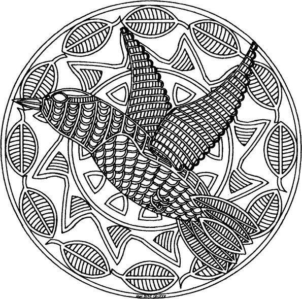 printable indian mandalas coloring pages - photo#12